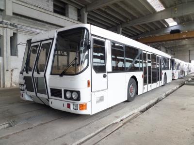 MAN AE 141 A 4   Flughafen Vorfeldbussen.